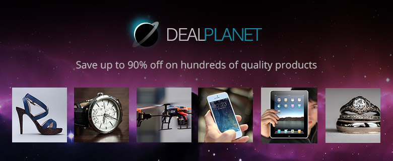 Deal Planet - Save up to 90 % off on hundreds of quality products