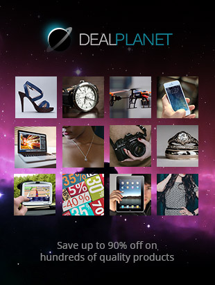 Deal Planet - Save up to 90% off on hundreds of quality products