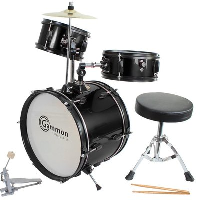 Kid's Black Drum Set