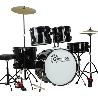 Complete 5-Piece Drum Set
