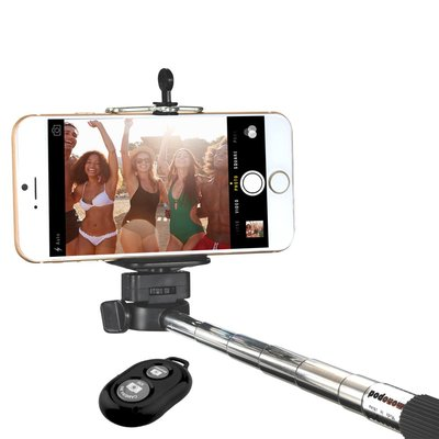 Minisuit Selfie Stick with Bluetooth Remote