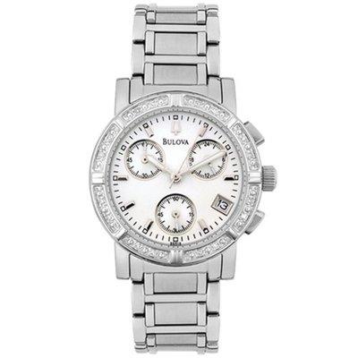Bulova Diamond Chronograph Watch