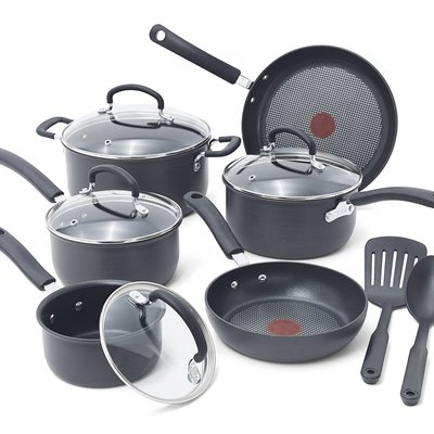 12 Piece Cookware Set With Thermo-spot Technology