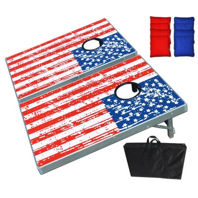 American Flag CornHole Bean Bag Toss Game Set