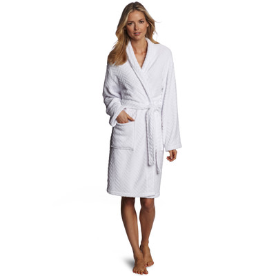 Seven Apparel Textured Plush Robe