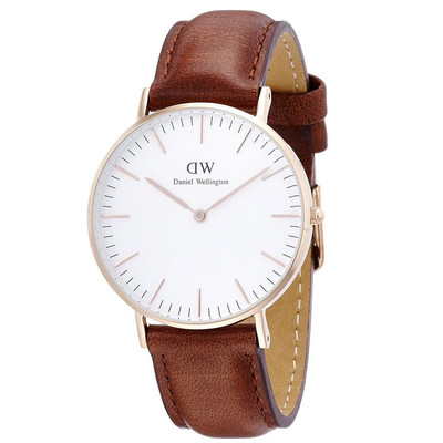 Daniel Wellington Women's Classic Quartz Brown Watch