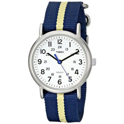 Timex Weekender Silver-Tone Watch