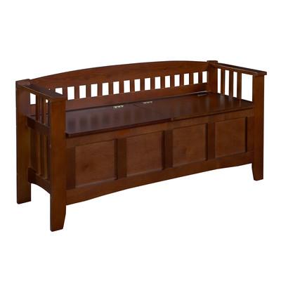 Linon Home Decor Storage Bench