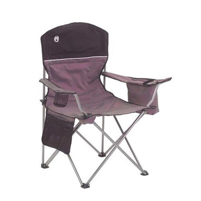 Coleman Cooler Quad Chair Gray/Black