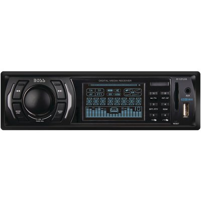 BOSS Audio In-Dash Single-Din USB/SD/MP3 Player Receiver
