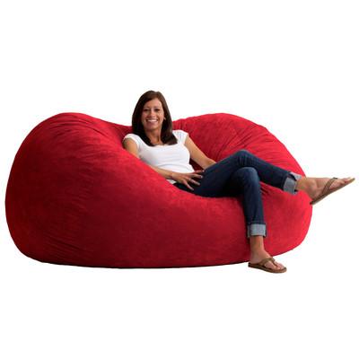 Comfort Research 6-Foot XL Fuf in Comfort Suede, Sierra Red