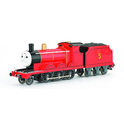 Bachmann Trains Thomas And Friends - James The Red Engine With Moving Eyes
