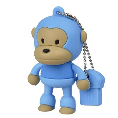 Cartoon Animal Monkey Shape 8GB USB Flash Drive Memory Stick