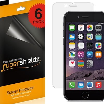 6-Pack Of Apple iPhone 6 Screen Protectors