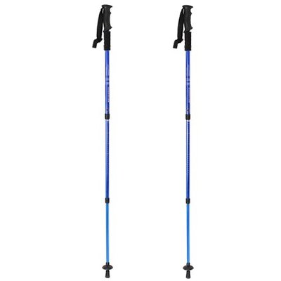 IMAGE® Blue Adjustable Outdoor Trekking Stick Pair