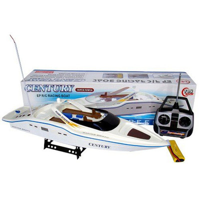 "30"" Remote Control Racing Yacht with Display Stand"