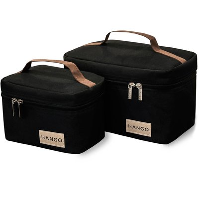 Hango Insulated Lunch Box Cooler Bag (Set of 2 Sizes)
