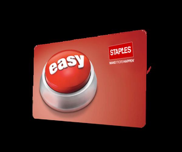 staples card login