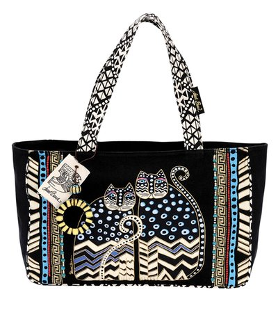 Laurel Burch Medium Tote with Zipper Top