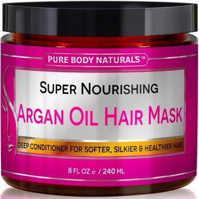 Argan Oil Hair Mask, 8 oz.